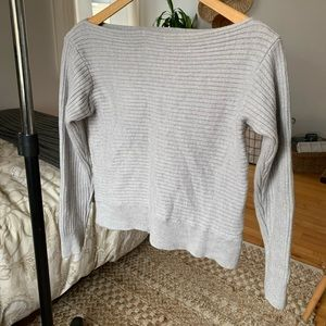 size small merino wool Babaton sweater